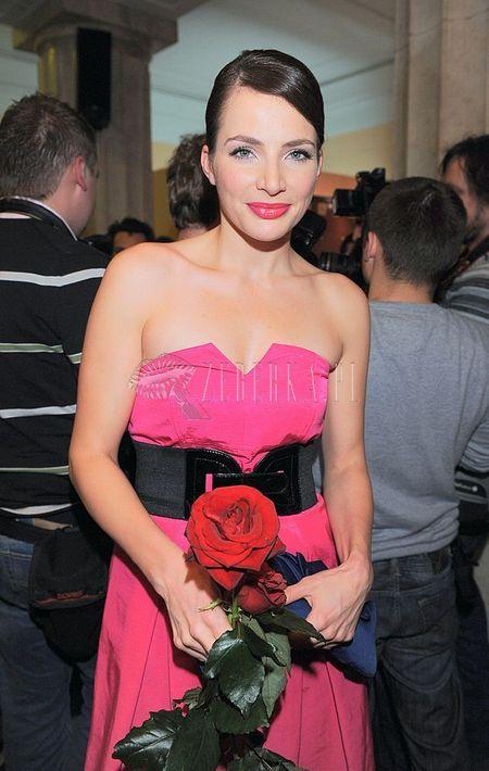 Anna Dereszowska jak różyczka