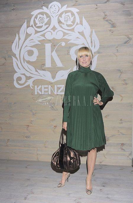 Agata Młynarska jak zielony balonik