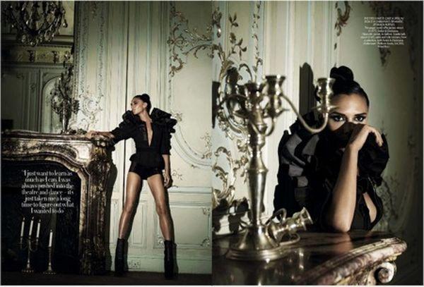 Victoria Beckham dla Harper's Bazaar