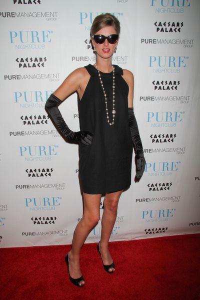 Nicky Hilton jako Audrey Hepburn