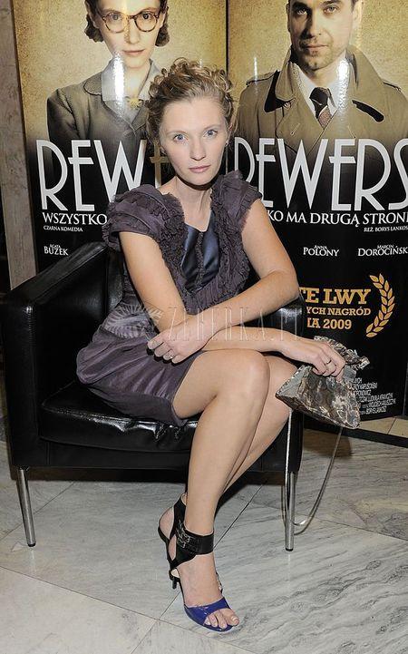 Agata Buzek w wersji premierowej