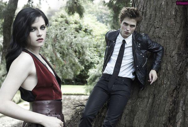 Kristen Stewart i Robert Pattison w wyczekiwanej sesji