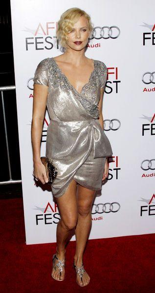 Charlize Theron na srebrno