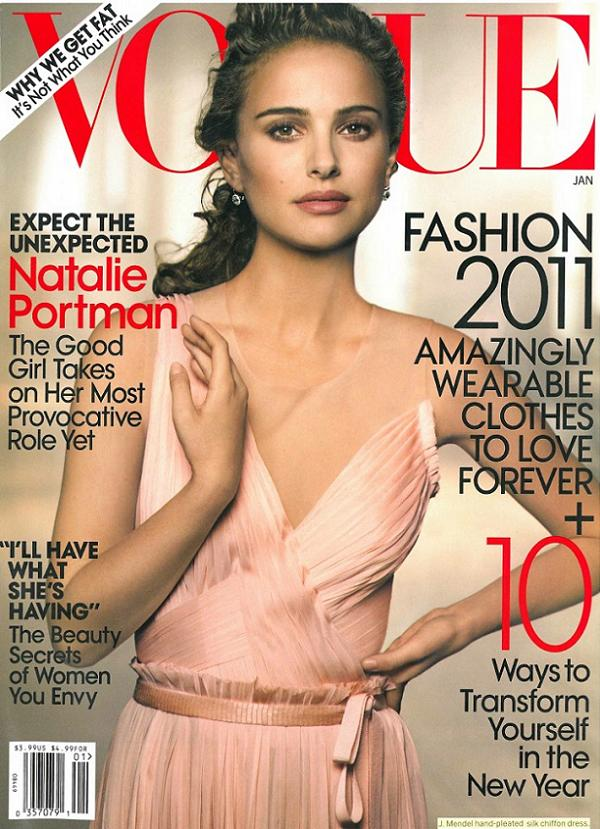 Natalie Portman na okładce Vogue