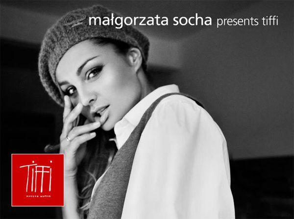 Małgorzata Socha twarzą Tiffi