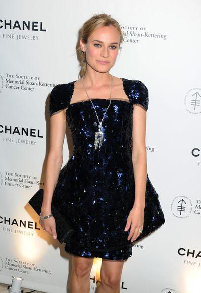 Diane Kruger błyszczy w Chanel