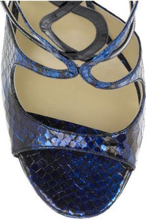 Kobaltowe sandałki Jimmy Choo
