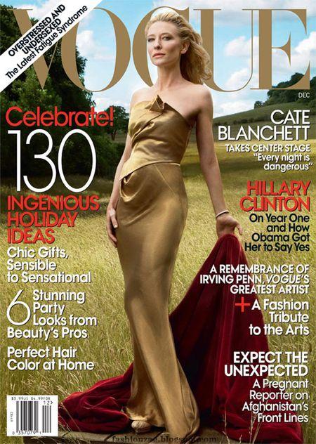 Złota Cate Blanchett