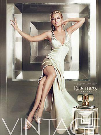 Kate Moss przenosi w świat Vintage
