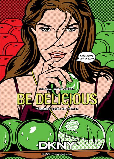 Donna Karan Be Delicious w komiksowej oprawie