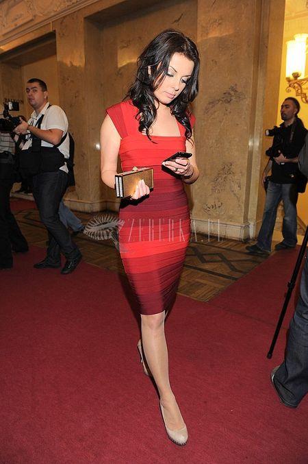 Bandażowa sukienka Katarzyny Glinki