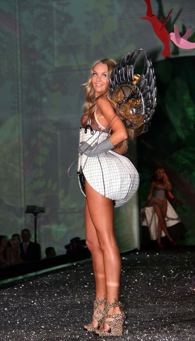 Rubik i Jagodzińska na wybiegu Victoria's Secret