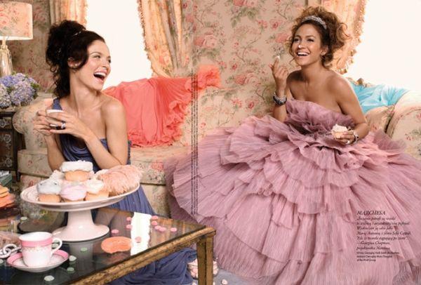 Jennifer Lopez w styczniowym Elle
