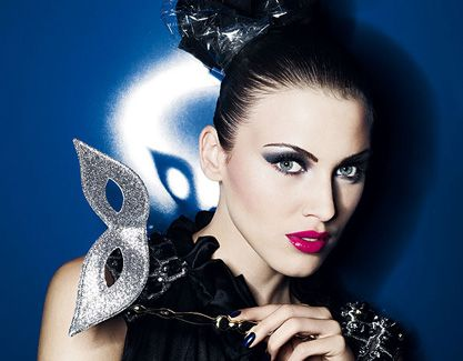 Makijaż na sylwestra – Blue Queen