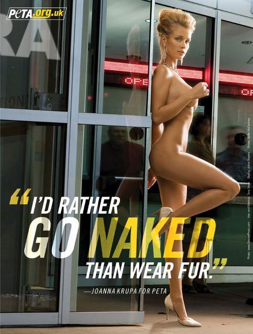 Joanna Krupa rozebrała się dla PETA