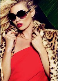 Kate Moss dla Vogue Eyewear
