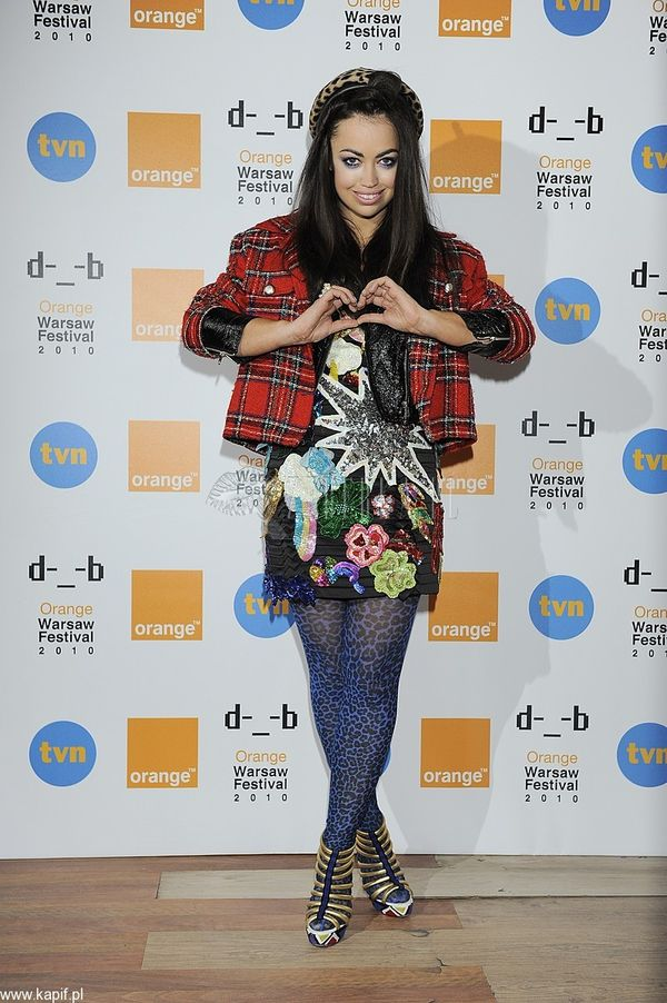 Aura Dione na konferencji Orange Warsaw Festival