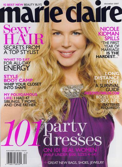 """Nicole Kidman w polskim """"In Style"""""""