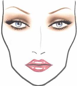 Makijaż w stylu Fergie