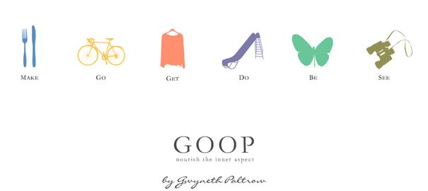 Goop By Gwyneth Paltrow.