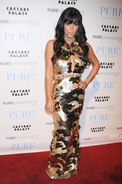 Kim Kardashian jak syrenka