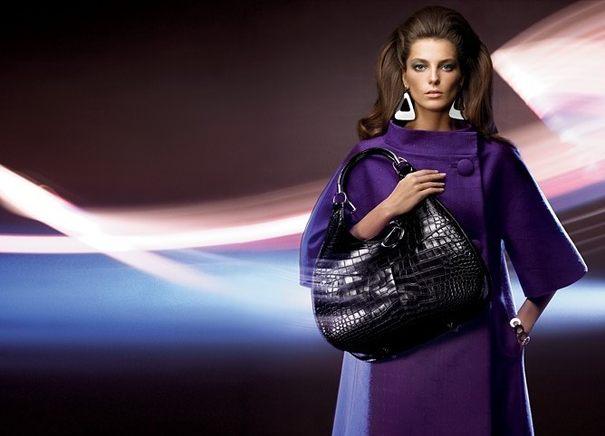 Daria Werbowy w kampanii Diora