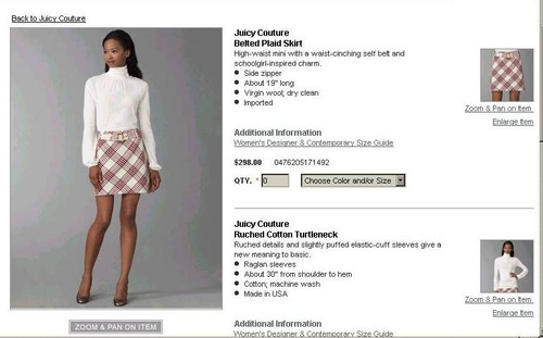 Spódnica Juicy Couture