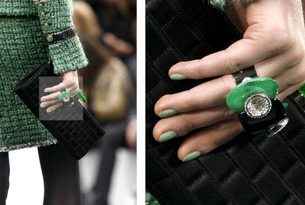 Chanel proponuje paznokcie w kolorze mięty