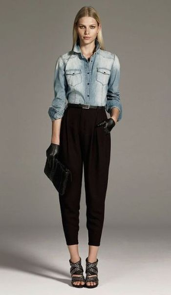 Jesienny lookbook Zara