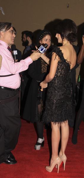 Penelope Cruz w asymetrycznie