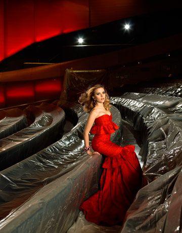 Scarlet Johansson dla Harper's Bazar