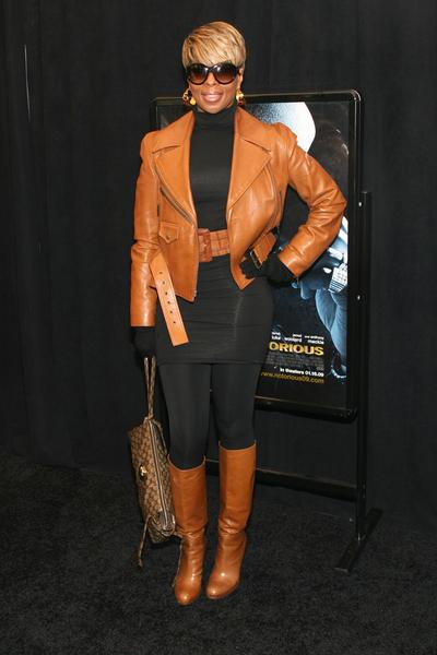 Skórzana Mary J. Blige
