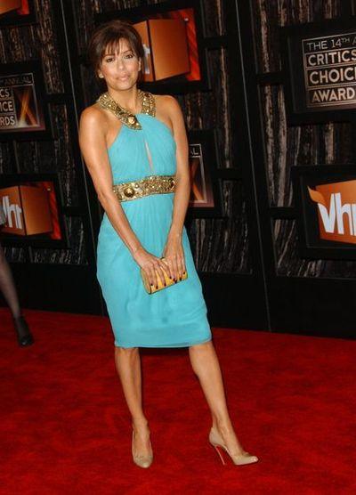Eva Longoria w sukni od Monique Lhuillier