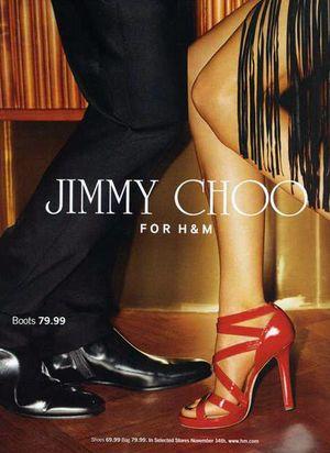 Jimmy Choo dla H&M - cz. 2