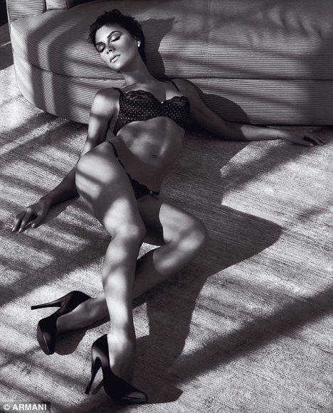 Victoria Beckham w bieliźnie