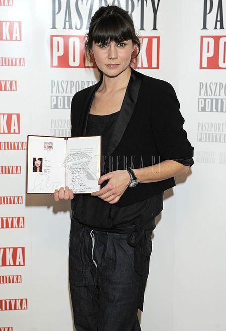 Małgorzata Szumowska na luzie