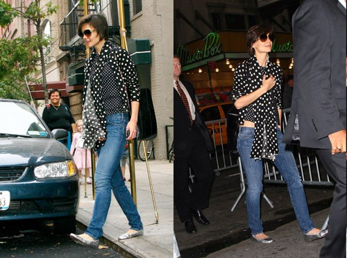 Katie Holmes nosi H&M