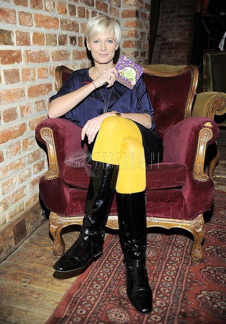 Odeta Figurska lubi kontrasty