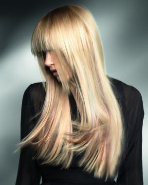 Cięcia dla długich włosów