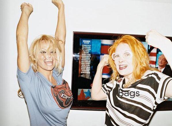Pamela Anderson dla Vivienne Westwood