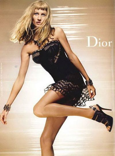 Nowa fryzura Gisele Bundchen w reklamie dla Diora