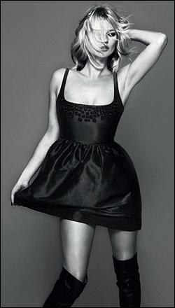 Kate Moss w świątecznej kolekcji Top Spop