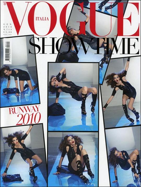 Karlie Kloss na okładce Vogue Italia