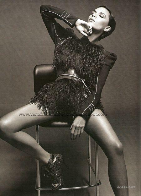 Sesja Posh dla Vogue'a
