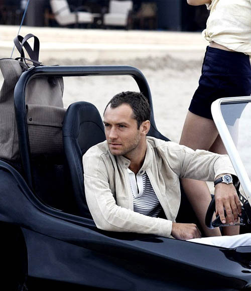 Jude Law ponownie promuje Dunhill