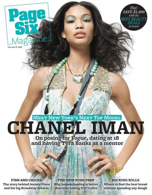 Chanel Iman dla Page Six