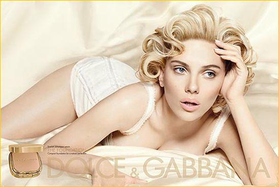 Druga odsłona Scarlett Johansson dla D&G