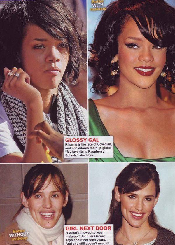 celebrities without makeup gwiazdy bez makijażu