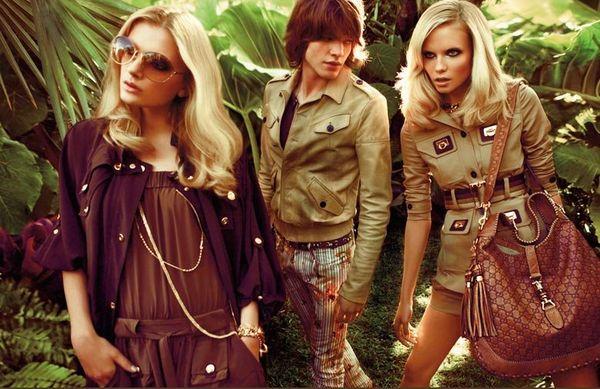 Kampania reklamowa Gucci wiosna/lato 2009