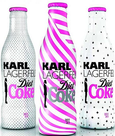 Karl Lagerfeld dla Coca-Coli
